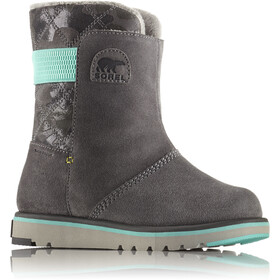 Sorel Rylee Boots Kinder quarry/dolphin